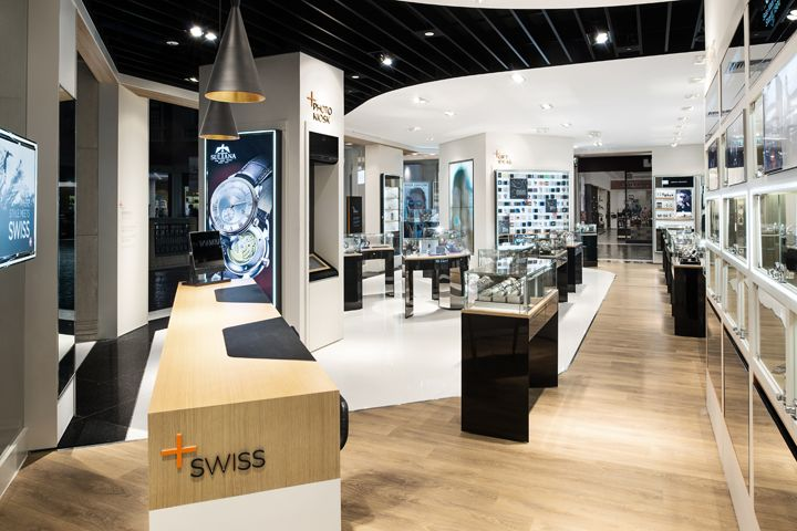 WSI flagship watch store by StartJG HK, Macau | Intelliretail.com #Intelliretail