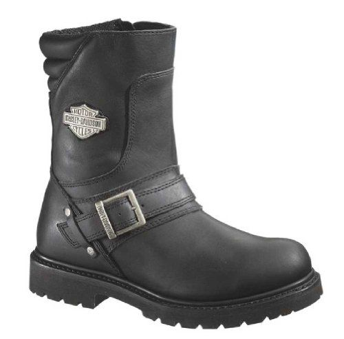 Harley-Davidson Men's Booker Engineer Boot,Black,12 M US - http://authenticboots.com/harley-davidson-mens-booker-engineer-bootblack12-m-us/