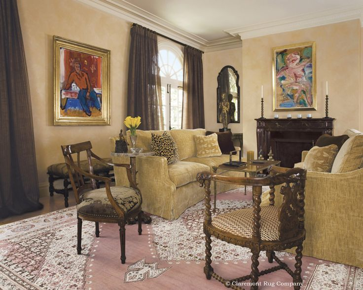 15 best ideas about persian rugs enliven luxurious living for Villa d arte interior design home collection