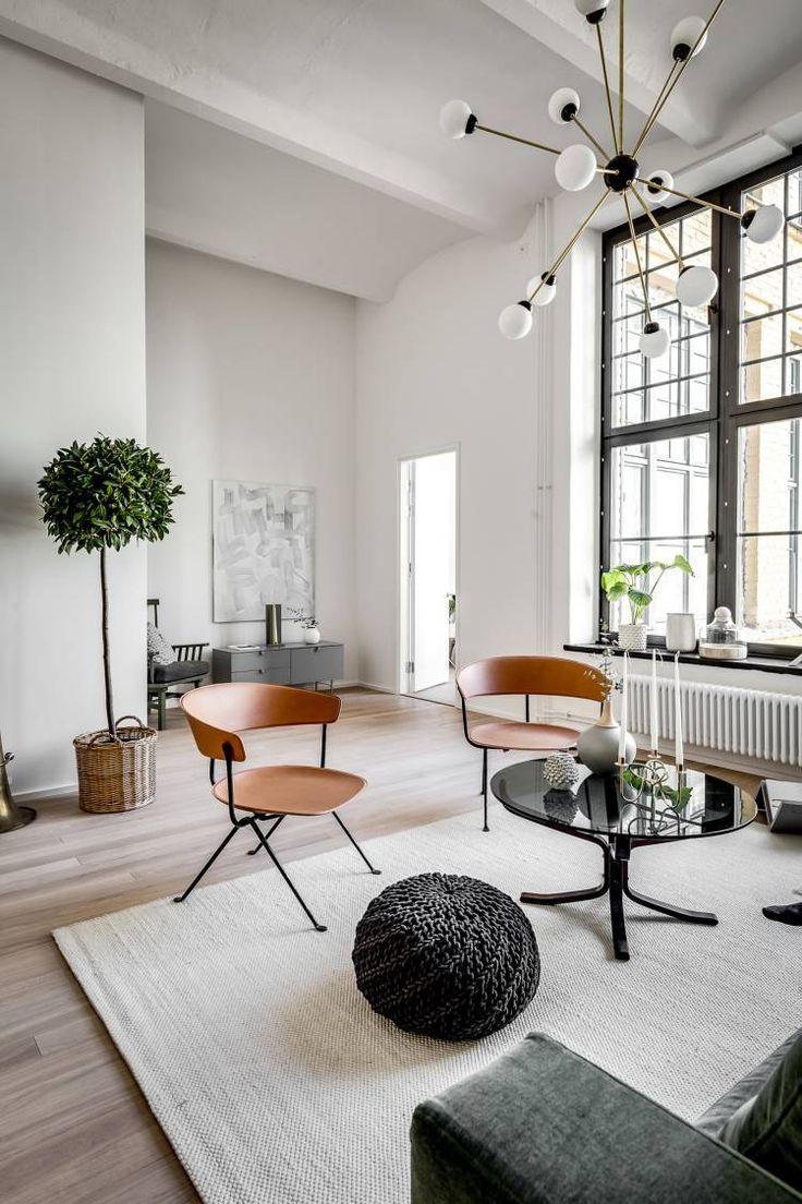 Удивительная четырехкомнатная квартира площадью 103 квадратных метра есть в Стокгольме, Швеция