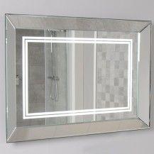 Concavo 85 x 60cm Landscape Wooden Frame Mirror