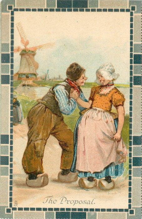 1003 Best Images About Vintage Dutch Post Cards On