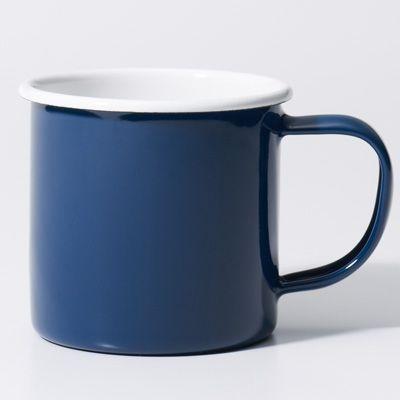 【数量限定】ホーロー マグカップ 紺 約250ml | 無印良品ネットストア