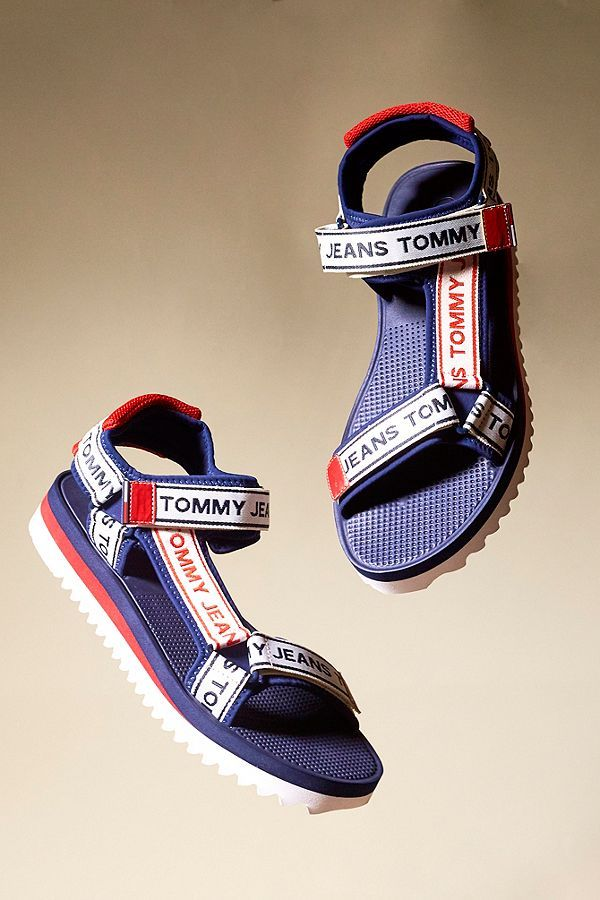 Tommy Jeans Navy Technical Sandals