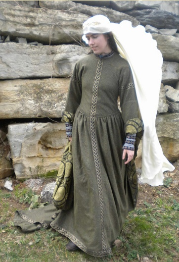 Early Medieval Overdress - supposedly 12th century