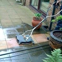 #high pressure cleaning can help with slippery surfaces as well as making the area healthier for respiratory complaints.