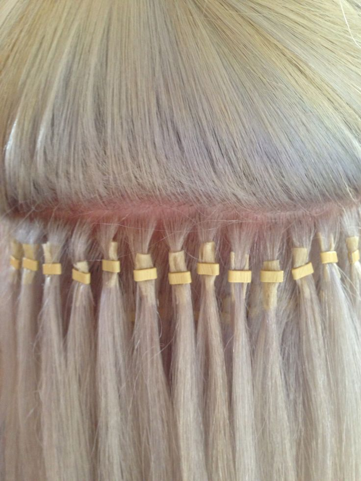Micro bead extensions!