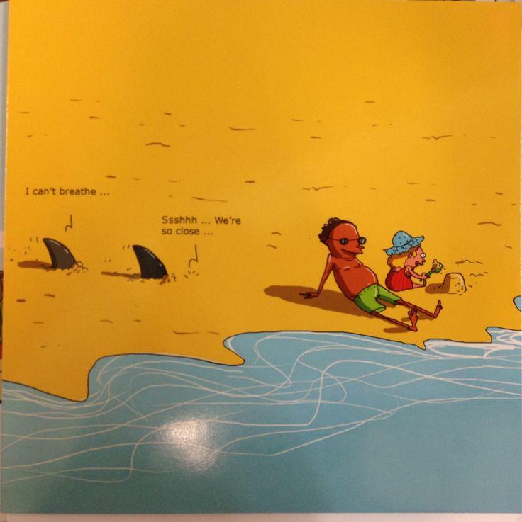 Sand shark - card from Wulffmorgenthaler