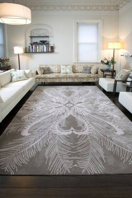 Feathers - Rug Collections by Catherine Martin - Designer Rugs