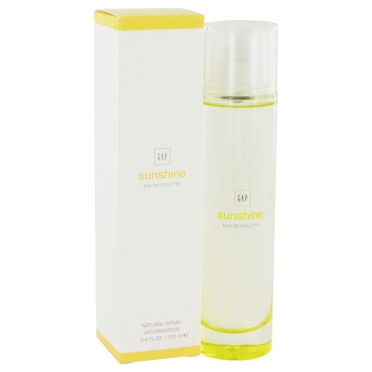 New #Fragrance #Perfume #Scent on #Sale  Gap Sunshine by Gap 3.4 oz / 100 ml EDT Spray - Everyone needs a little sunshine in their life. Gap Sunshine brings radiance to any outfit. Contained in a sleek golden bottle, you?ll be tempted to spray the sweet smelling rays on you every day.. Buy now at http://www.yourhotperfume.com/gap-sunshine-by-gap-3-4-oz-100-ml-edt-spray-perfume-for-women-new-in-box.html