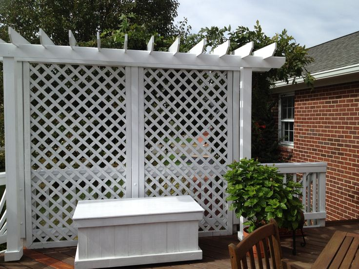30 best images about plenty of privacy on pinterest for Outdoor lattice privacy screen