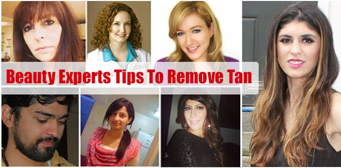 Home Remedies For Tan Removal - Beauty Experts