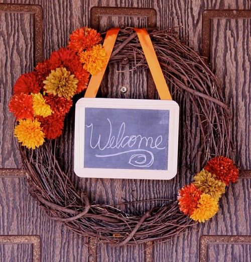 35 Charming DIY Fall Wreath Ideas   Daily source for inspiration and fresh ideas on Architecture, Art and Design