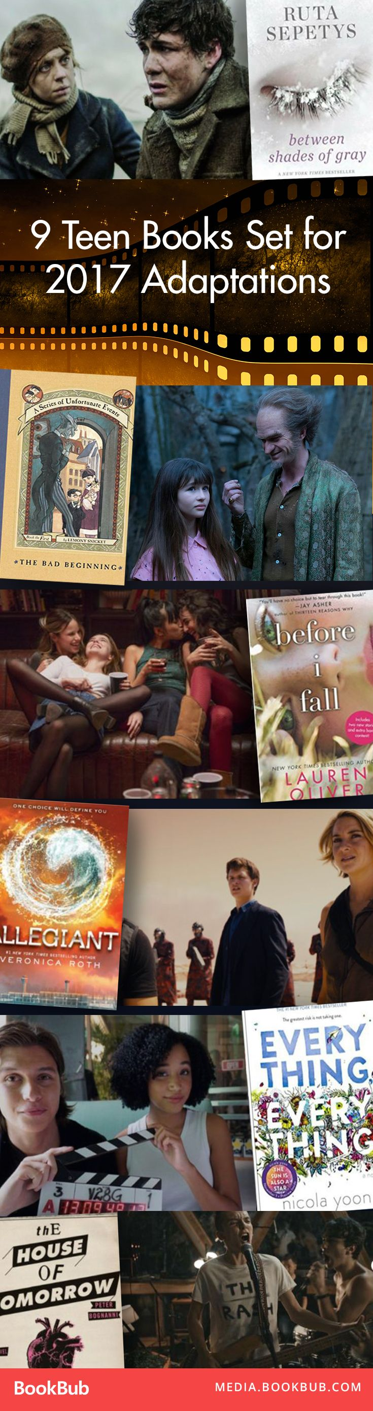9 books to read for young adults before they're made into movies and tv shows.
