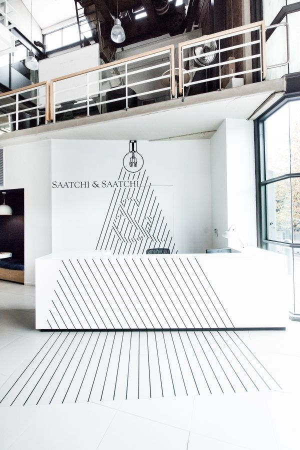 Saatchi & Saatchi Cape Town Office Design (same idea but play with diff. textures)