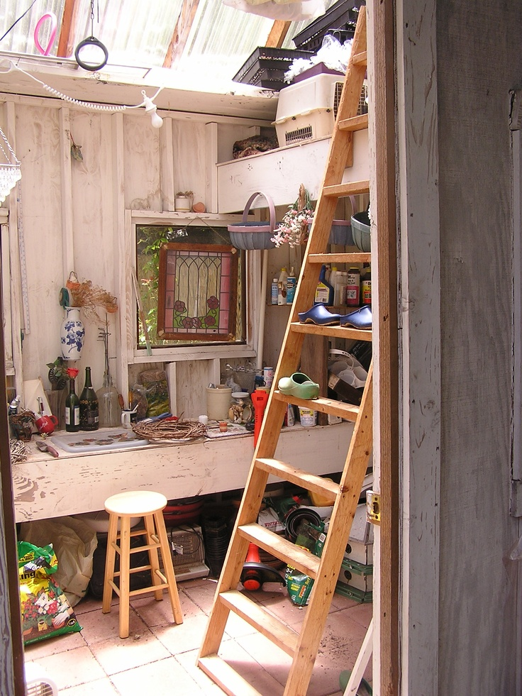 87 best Potting Shed Interiors images on Pinterest