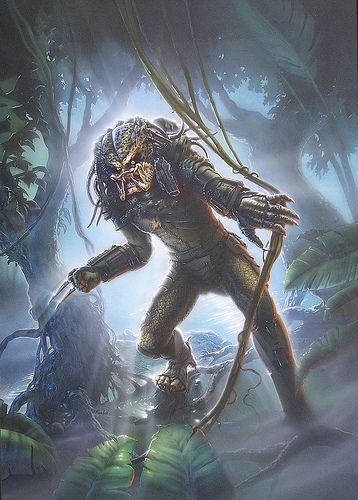 Predator in the Jungle - Official art of the video game - Finish - Artinsights Film Art Gallery