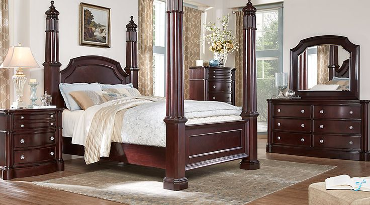 1000 Ideas About Cherry Wood Bedroom On Pinterest Cherry Sleigh Bed Bedroom Furniture Redo