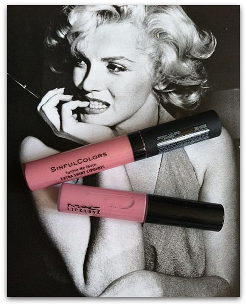 TheFab411.com: MAC Snob Lipglass- Review and Dupe Sinful Colors Lip gloss in Wink #229. Walgreens a buck$