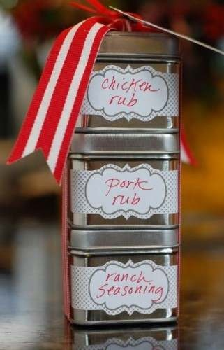 GIFTS - SPICE MIXES