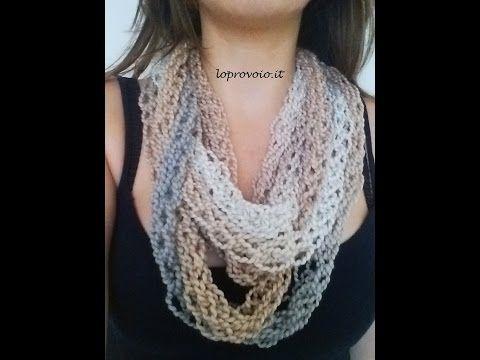 Finger knitting - Come fare la maglia con le dita - YouTube