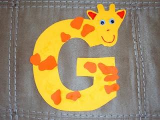 Mom's Tot School: G is for Giraffe!
