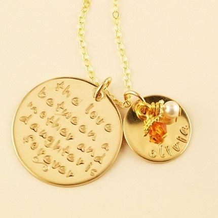 Mummy necklace