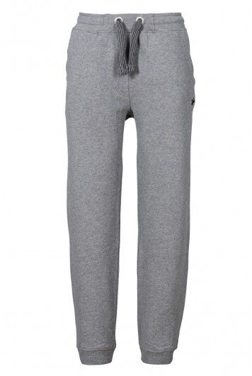 recolution organic Jogginghose Männer grau-meliert fair trade Jogger Pants Bio Baumwolle