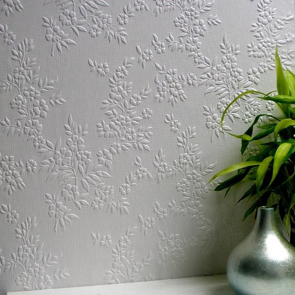 Sample Portland Paintable Anaglypta Wallpaper design by Brewster Home Fashions