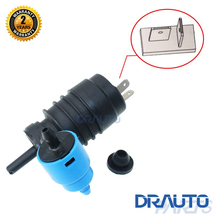 Front & Rear Windshield Windscreen Washer Pump Fit For Volkswagen Polo 1994 1995 1996 1997 1998 1999 #Affiliate