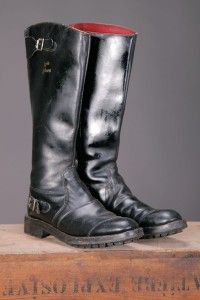 1970's Lewis Leathers Super Hunter boots, commando soles, uk, motorcylist