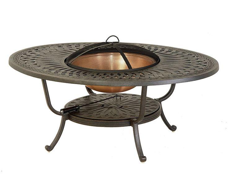 12 best Cast Aluminum Fire Tables images on Pinterest Outdoor