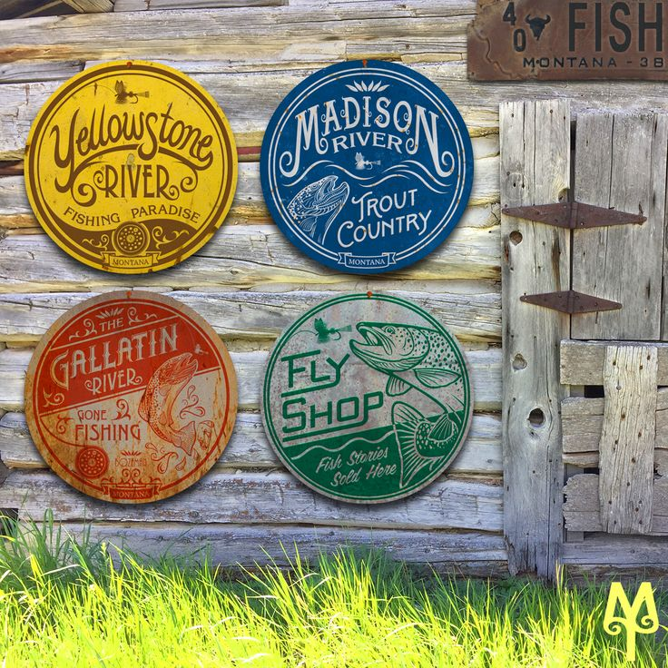 Remind yourself of the time you fly fished some of southwest Montana's blue ribbon trout streams...Buy a Montana Treasures fly fishing wall sign and decorate your home or cabin with fond memories, today!
