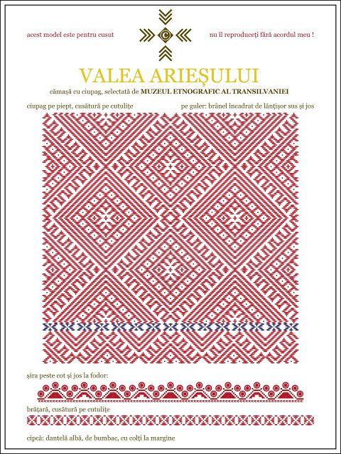 camasa cu ciupag - Valea Ariesului, TRANSILVANIA