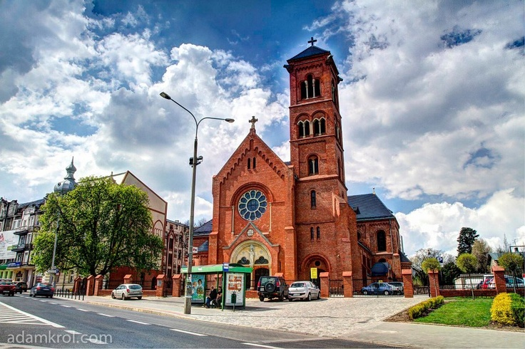 Kościół przy ulicy Kościelnej.