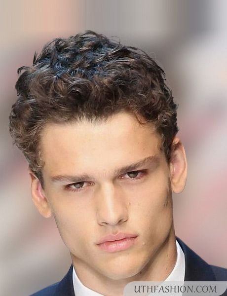 Short Curly Hairstyles For Men 2015