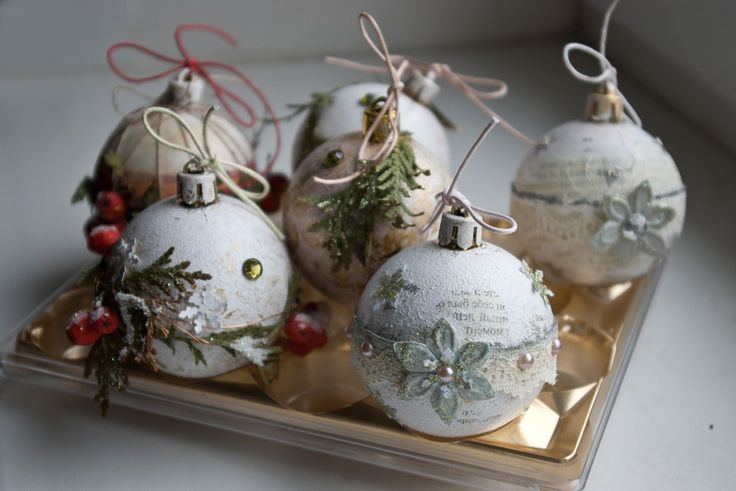 Творим вместе- скетчи: Мастер класс: новогодние шарики!