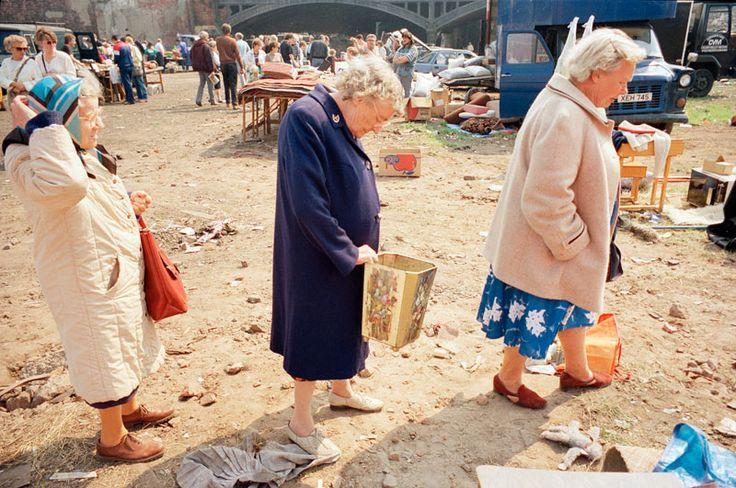 Tom Wood - Three Wise Women, car boot sale Merseyside. (1989)