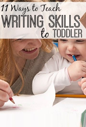 11 Fun Ways To Teach Your Toddler To Write Better: There is a widespread belief amongst parents that children who learn to write in preschool or kindergarten shall turn out to be better writers and readers.you can try out the following fun ways.
