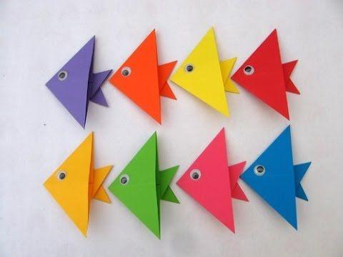 Origami fish tutorial