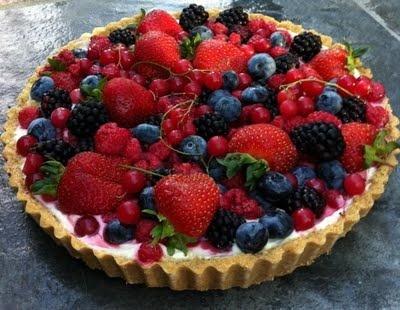 no-fuss fruit tart recipe nigella lawson - graham cracker ...