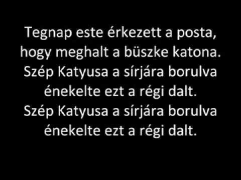 Katyusa magyarul