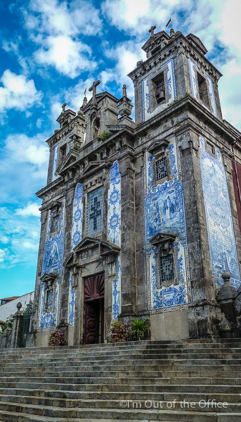 Walking in the Beautiful City of Oporto - Unesco World Heritage Site - via I'm Out of the Office 07.11.2014 | The amazing city of Porto, also known as Oporto in English, is located along the Douro river estuary in the North of Portugal and is the second-largest city of the country. | Photo: Church of Saint Ildefonso, Oporto (Igreja de Santo Ildefonso, Oporto)