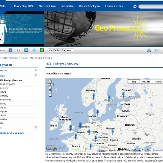 HCL Europe http://www.hcltech.com/geo-presence/hcl-europe-overview