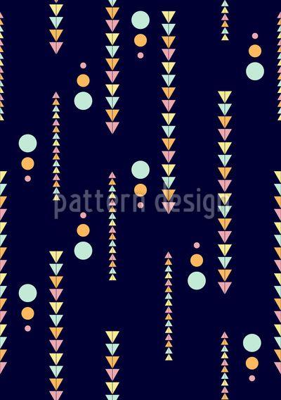 Tetris Shapes Repeat Repeat by Elena Alimpieva at patterndesigns.com