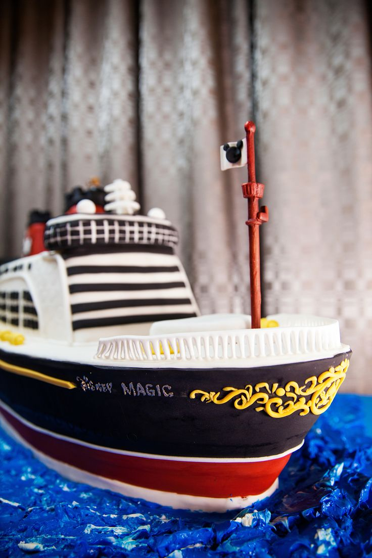 A Disney Magic Inspired Cake For Ship Lovers Everywhere