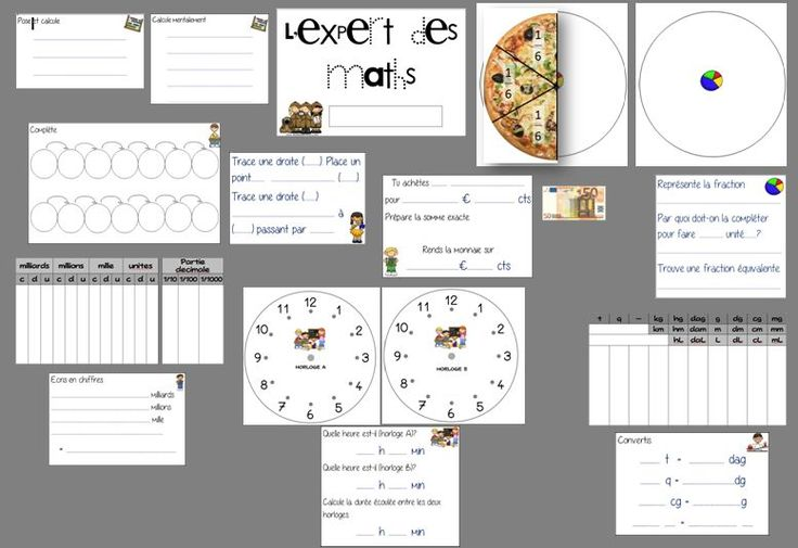 Rituel de maths - l'expert des maths - La classe de Mallory