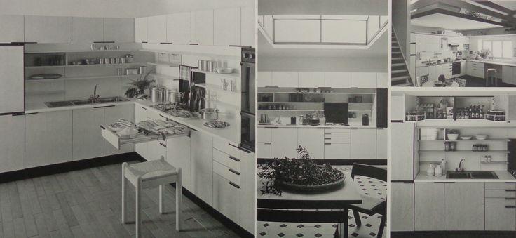 1980 ALISSO (designed by Lucci & Orlandini) #ergonomic #kitchen #arclinea
