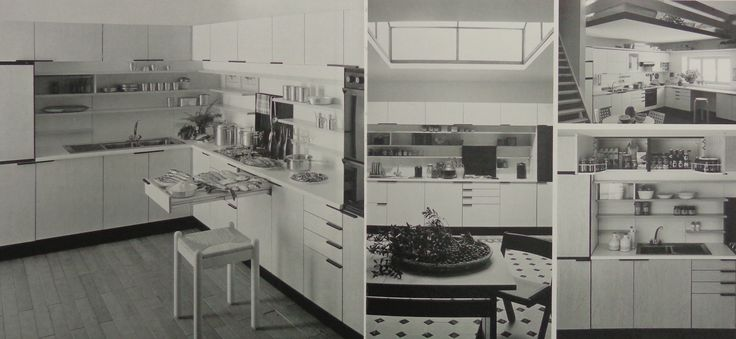 1980 ALISSO (designed by Lucci & Orlandini) #ergonomic #kitchen #arclinea