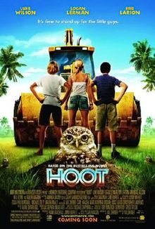 """Based on Carl Hiaasen (""""Striptease""""). Written and directed by comic Wil Shriner. This family comedy stars Logan Lerman (""""Percy Jackson"""") as the new kid in South Florida who finds a purpose when developers want to replace an owl habitat with a Waffle House. Jimmy Buffett contributes to the soundtrack and is a producer."""